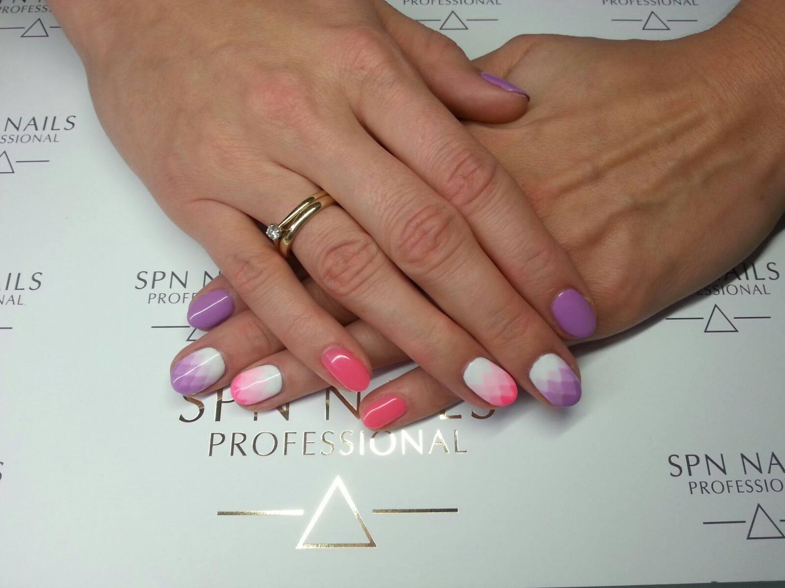 geometria manicure